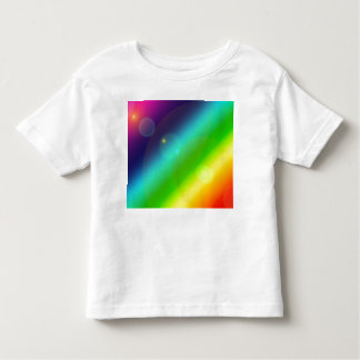 Bubbly Rainbow Toddler T-Shirt