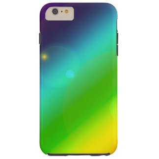 Bubbly Rainbow Tough iPhone 6 Plus Case