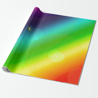Bubbly Rainbow Wrapping Paper