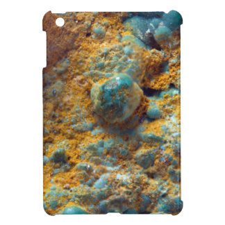 Bubbly Turquoise with Rusty Dust iPad Mini Cover