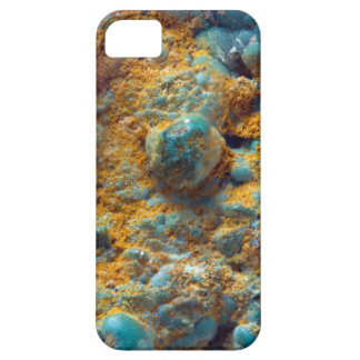 Bubbly Turquoise with Rusty Dust iPhone 5 Covers