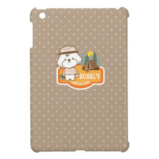 Bubbly's camping time iPad mini cover