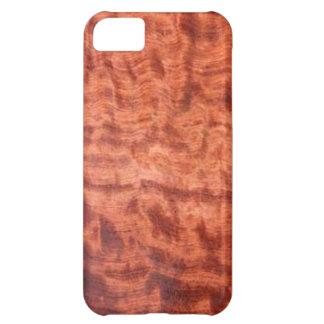 bubinga (faux) Wood Grain Finish iPhone 5C Case
