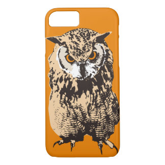 Bubo bengalensis (Indian eagle-owl) iPhone 8/7 Case