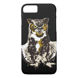 Bubo virginianus (Great horned owl) iPhone 8/7 Case