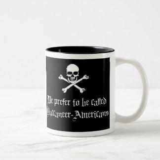 Buccaneer-Americans,  Talk Like A Pirate Day Two-Tone Mug