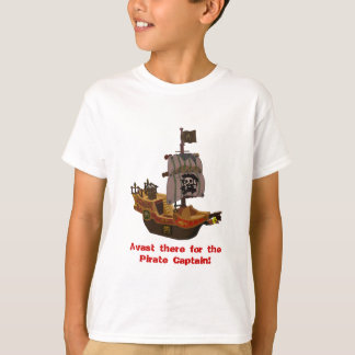 Buccaneer Pirate Ship kids t-shirt