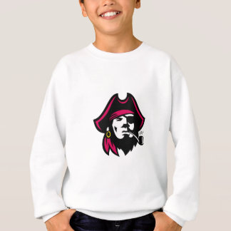 Buccaneer Smoking Pipe Retro Sweatshirt