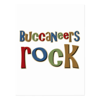 Buccaneers Rock Postcard