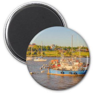 Buceo Port, Montevideo, Uruguay Magnet