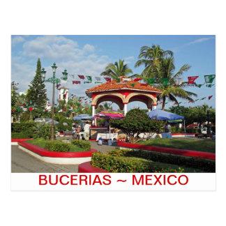 Bucerias Downtown Plaza Postcard
