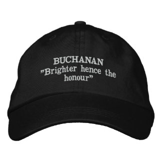 Buchanan Clan Motto Embroidered Hat