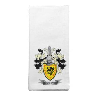 Buchanan Family Crest Coat of Arms Napkin