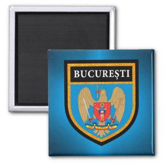 Bucharest  Flag Magnet