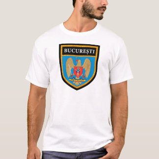 Bucharest  Flag T-Shirt
