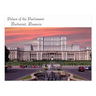Bucharest image for postcard