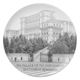 Bucharest, Romania Plate