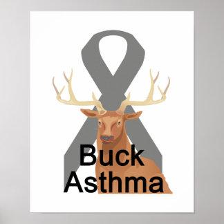 Buck Asthma Poster