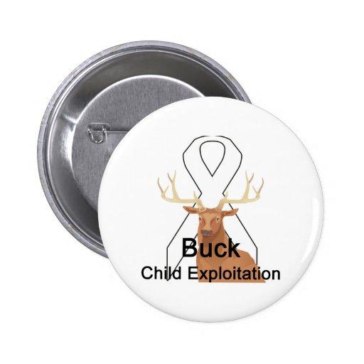 Buck Child-Exploitation Button
