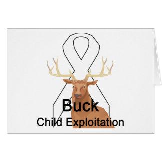 Buck Child-Exploitation Card
