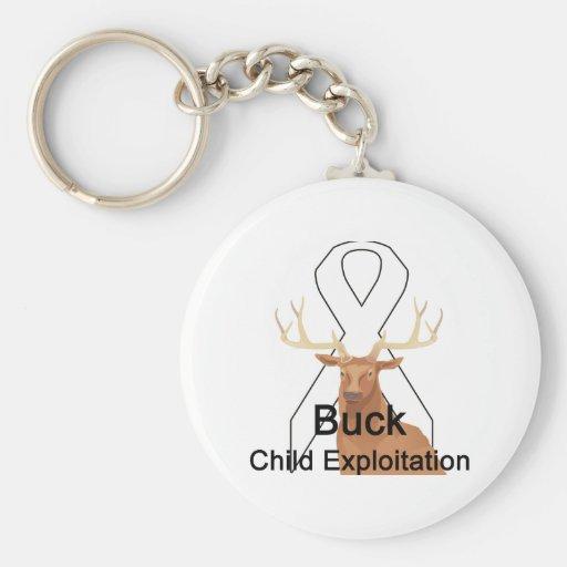 Buck Child-Exploitation Keychain