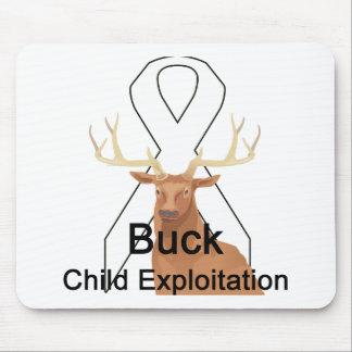 Buck Child-Exploitation Mousepad