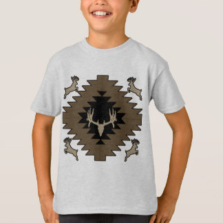 Buck deer American Indian art T-Shirt