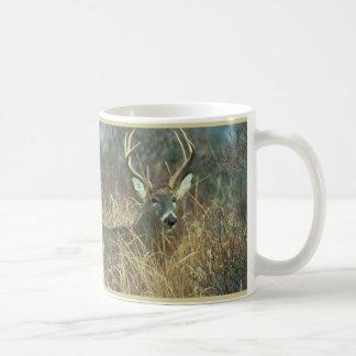 Buck in the Grass Coffee Mug
