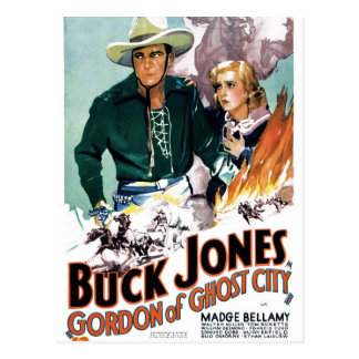 Buck Jones - Gordon of Ghost City Postcard