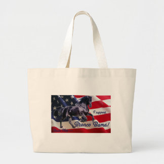Buck Mitt— I Support Bronco Bama! Tote Bags