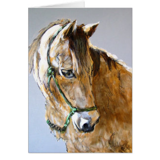 Buck of the Morgan Horse Ranch, PRNS Card