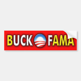Buck Ofama 2 Bumper Sticker