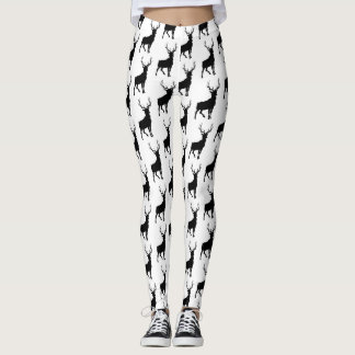 Buck Silhouette Leggings