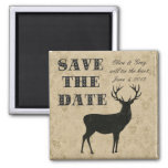 Buck Silhouette Save the Date Magnet