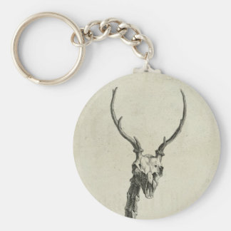 Buck Skeleton Key Ring