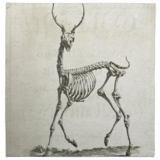 Buck Skeleton Napkin