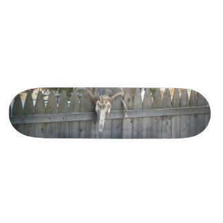 Buck Skull Design Skateboard