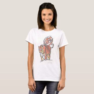 Buck-Toothed Flying Tiger Of Bengal Women's Tee