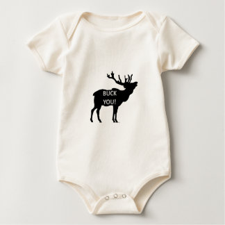 Buck You Baby Bodysuit