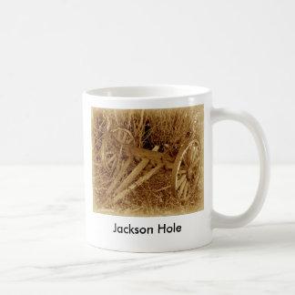 buckboard, Jackson Hole Classic White Coffee Mug