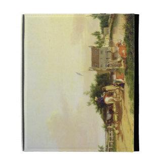 Buckenham Ferry on the River Yare, Norfolk, 1826 ( iPad Folio Cases