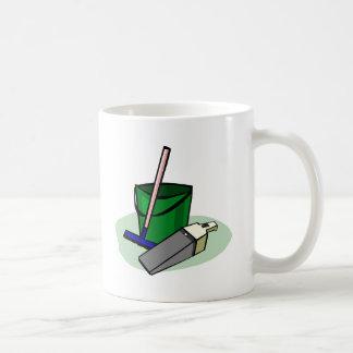 bucket-3032 basic white mug
