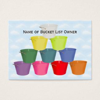 Bucket List Kit Business Card