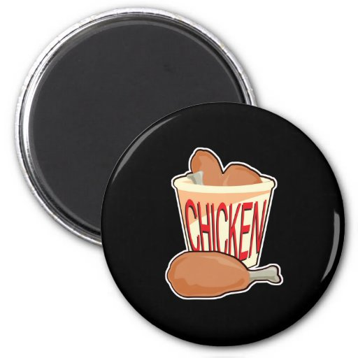 bucket of fried chicken magnet