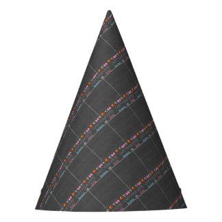 buckets vs bows tally board unpersonalized 11x14.j party hat