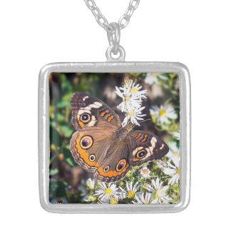 Buckeye Butterfly Necklace