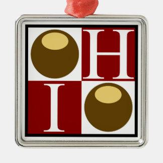 Buckeye Nut Ohio Ornament