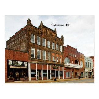 Buckhannon, West Virginia Postcard