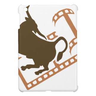 Bucking Bull Film Reel Cover For The iPad Mini