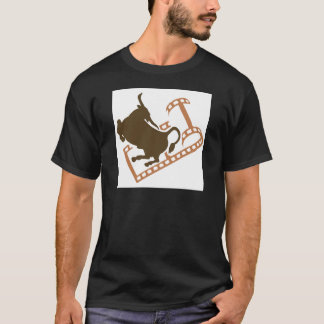 Bucking Bull Film Reel T-Shirt